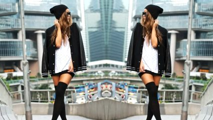 Over the knee κάλτσες: Φόρα τες με στυλ