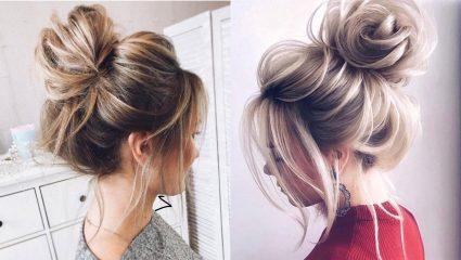 6 πανεύκολα messy hair buns που μπορείς να κάνεις μόνη σου