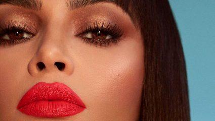 Το Cleopatra look της Kim Kardashian μας κάνει να μην παρατηρούμε καν τα νέα της lipsticks