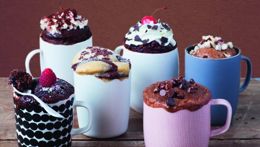 Mug cakes: Το ατομικό γλυκό των 2 λεπτών στον φούρνο μικροκυμάτων