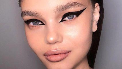 Extreme cat eye που θα σου χαρίσει αέρα μοντέλου