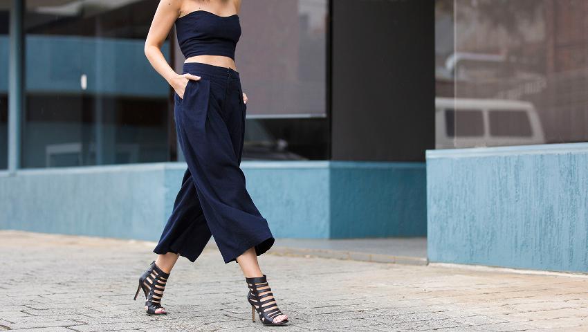 Pants culottes: Η νούμερο ένα επιλογή κάθε άνοιξη