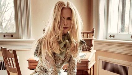 Το πιο παράξενο hair tip για βαμμένα μαλλιά δια στόματος Nicole Kidman