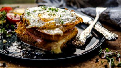 Croque madame ή scrumbled! Οι 4 καλύτερες επιλογές αυγού στο brunch