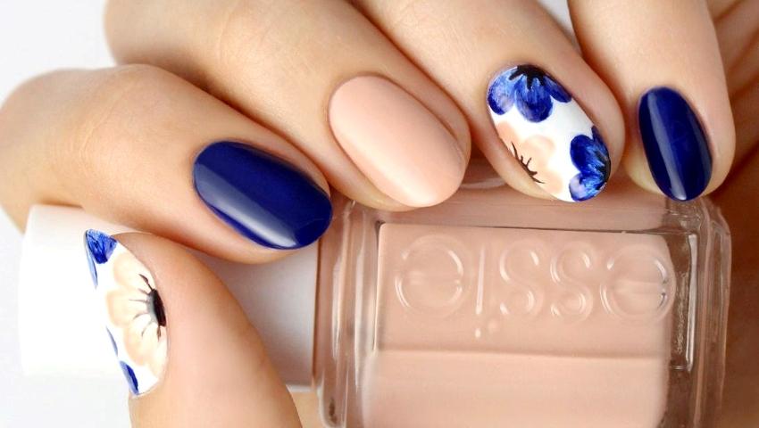 Λίγο πριν τον Ιούνιο! Ιδέες για τα πιο summer floral manicures