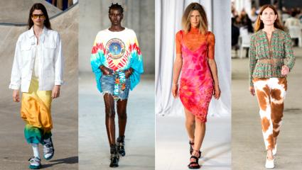 Die-tye ρούχα: Η μεγαλύτερη τάση των '90s απογειώνεται από την Prada και τη Stella McCartney