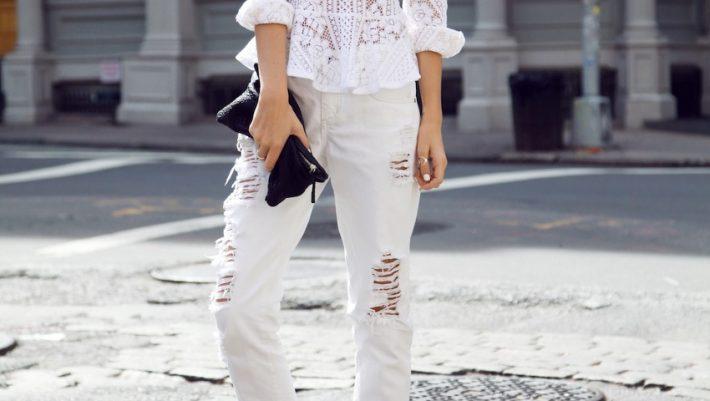 Λευκό jean: Αυτό που θα φοράς από το πρωί ως το βράδυ