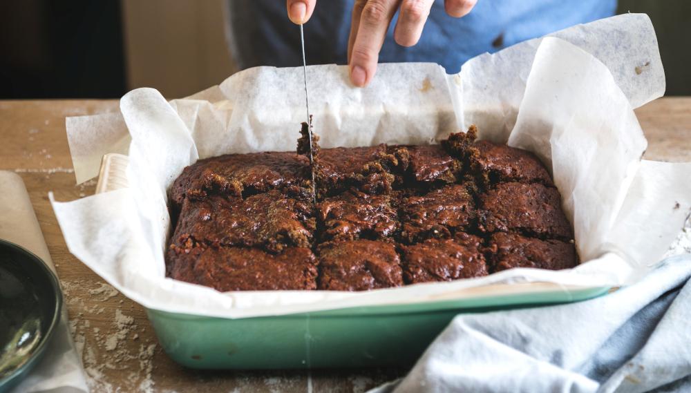 Για να μη σπάσεις τη δίαιτα: Brownies χωρίς ζάχαρη με δύο μόνο υλικά