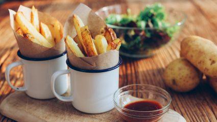 Πατάτες (σαν) τηγανιτές με ελάχιστες θερμίδες για να τις τρως μέχρι και στη δίαιτα