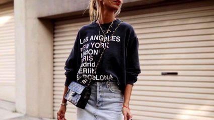 Φούτερ: Απογείωσε το look σου με την αγαπημένη stylish συνήθεια του φθινοπώρου