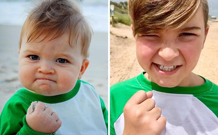 Θα πάθεις πλάκα: Τα 3 παιδιά από τα πιο διάσημα memes σήμερα (Pics)