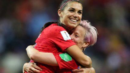 Μέγκαν Ραπίνο: Η γυναίκα ποδοσφαιριστής της χρονιάς
