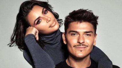 Το χειμερινό μακιγιάζ a la Kim Kardashian απαιτεί (πολύ) κόκκινο