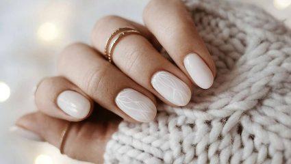 Milky nails: Η αγαπημένη τάση του φετινού χειμώνα