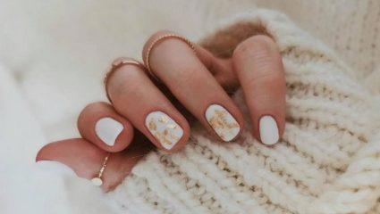 Ο τρόπος για να αναδείξεις στο έπακρο το winter white manicure