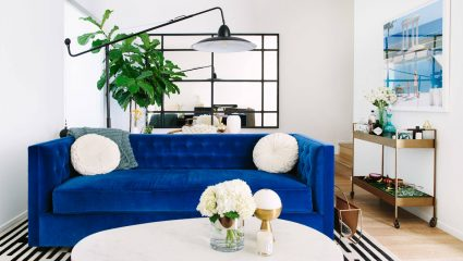 To classic blue πρωταγωνιστεί (και) στη διακόσμηση – Οι καλύτερες ιδέες για το σπίτι