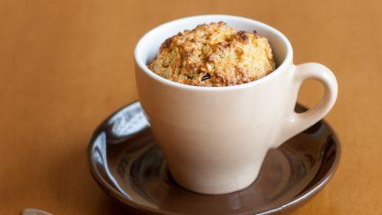 To πιο νόστιμο banana mug cake, ό,τι πρέπει για τον απογευματινό σου καφέ