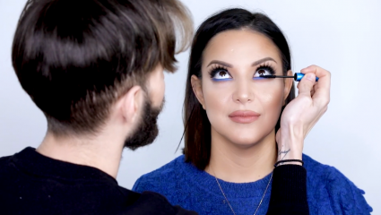 Petro's vlog #4: Τόλμησε το indigo μπλε, ιδανικό για καστανά μάτια