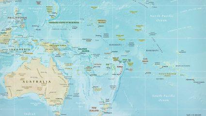 10/10 μόνο καθηγητής: Μπορείς να βρεις την πρωτεύουσα 10 χωρών της Ωκεανίας;