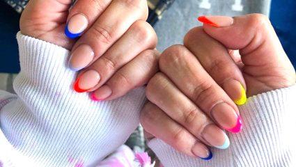 Mani time! Το «εναλλακτικό» γαλλικό που λάτρεψαν οι beauty bloggers
