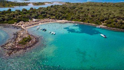 Λιχαδονήσια: Οι «Σεϋχέλλες της Ελλάδας» έχουν πάντα ζέστη