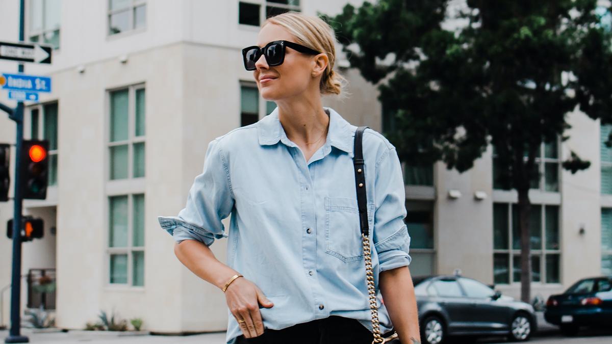 Απογείωσε το στυλ σου στις διακοπές με oversized πουκάμισα