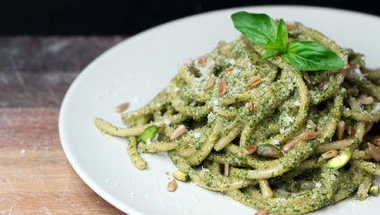 Σπιτική σάλτσα pesto για μακαρόνια σαν από εστιατόριο