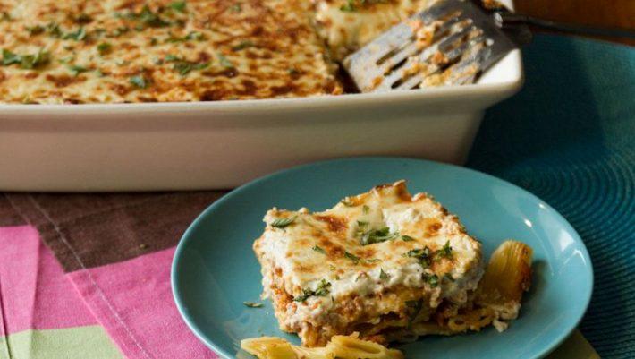 Παστίτσιο με λαχανικά σε μια συνταγή που θα σε ενθουσιάσει