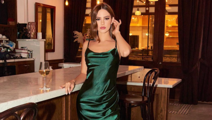 To slip dress είναι το #1 φόρεμα που θα φοράμε όλες την άνοιξη