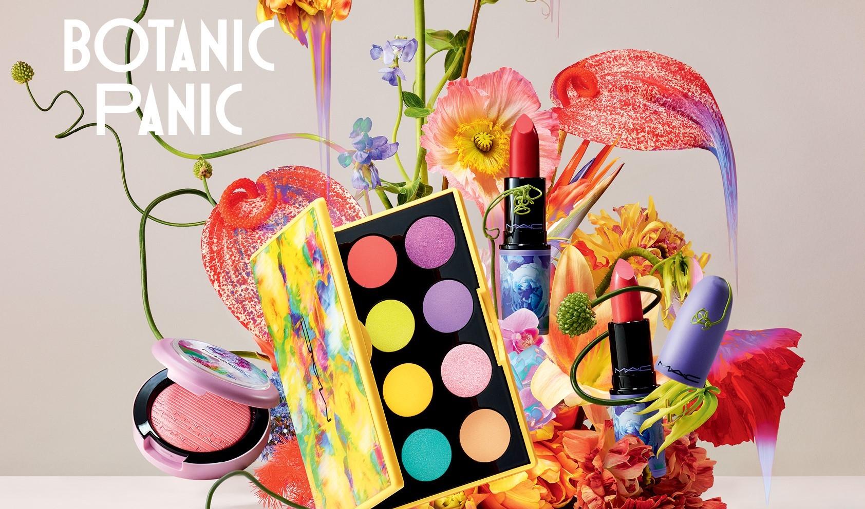 Η νέα Botanic Panic συλλογή της MAC θα σε παρασύρει στους πολύχρωμους κήπους της